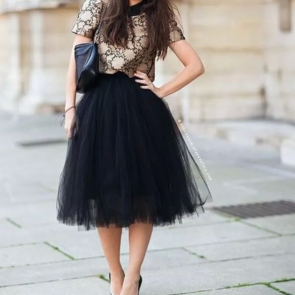 tulle skirts | black tutu skirt  in the city | poshmark